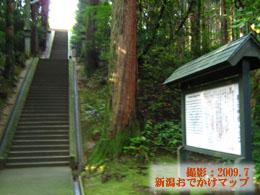 春日神社階段