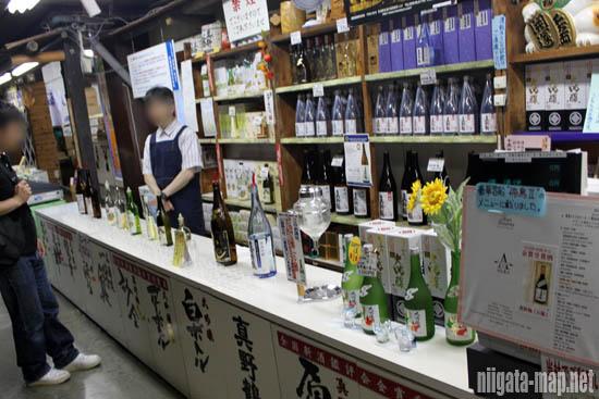試飲が可能な日本酒