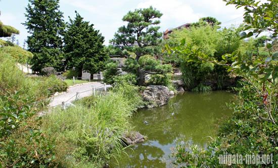 水の豊富な公園