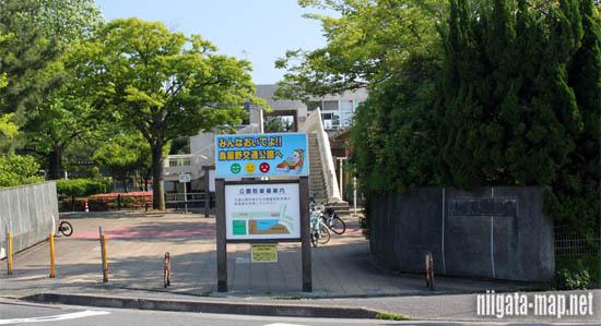 鳥屋野交通公園入り口