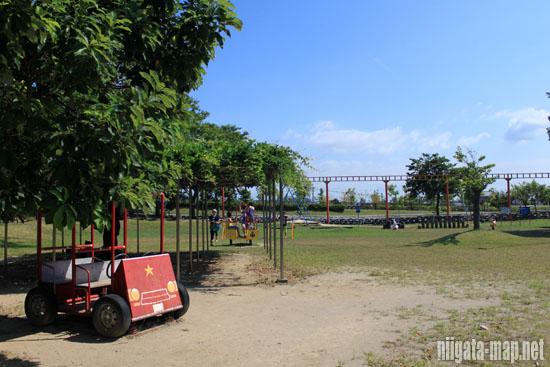交通ルールを学べる公園