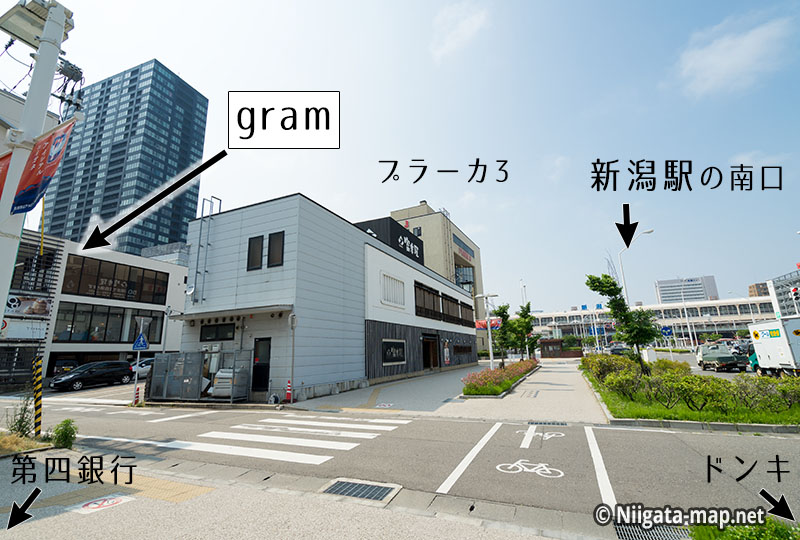 gramの場所