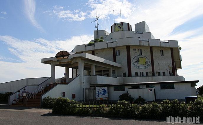 寺泊水族博物館の外観