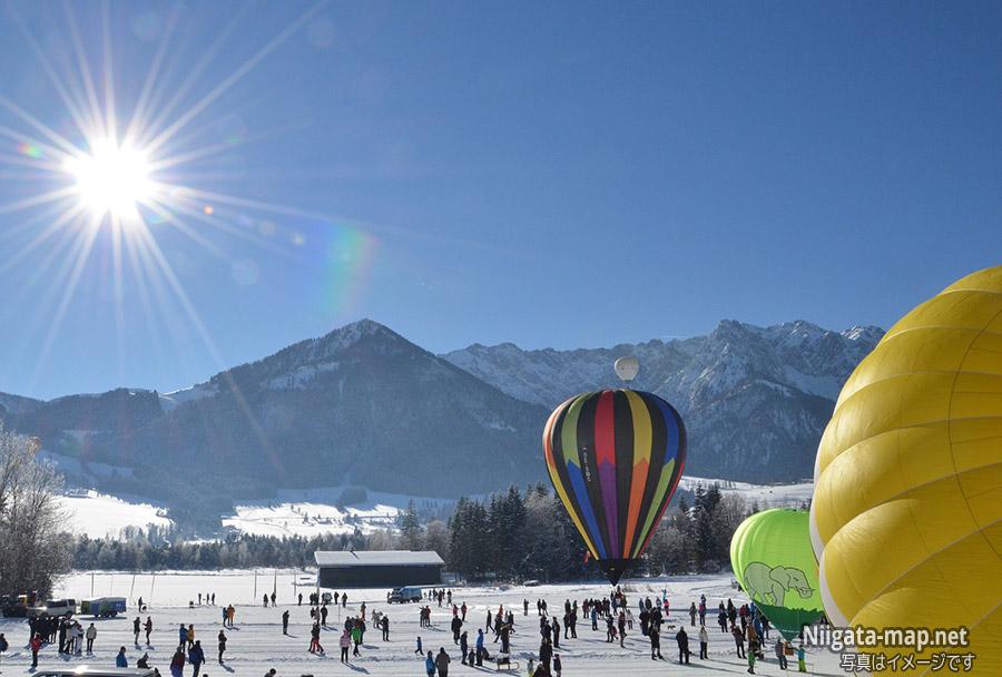 小千谷の気球イベント