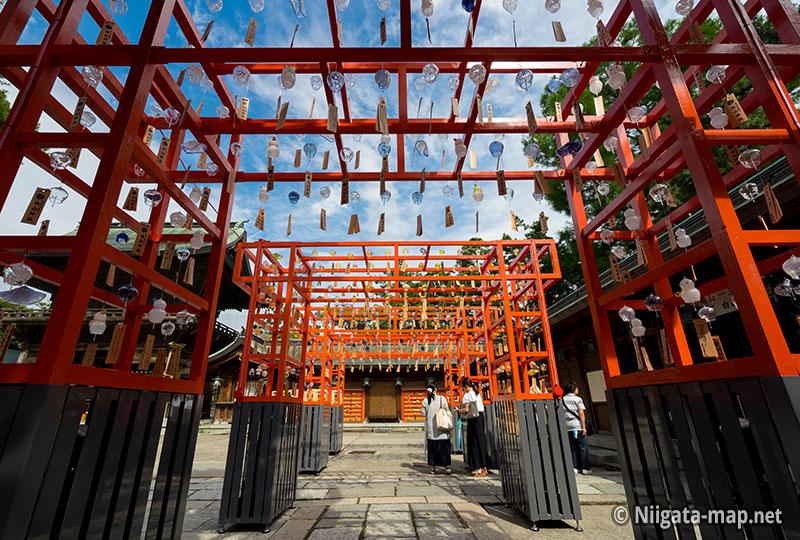 白山神社風鈴祭り