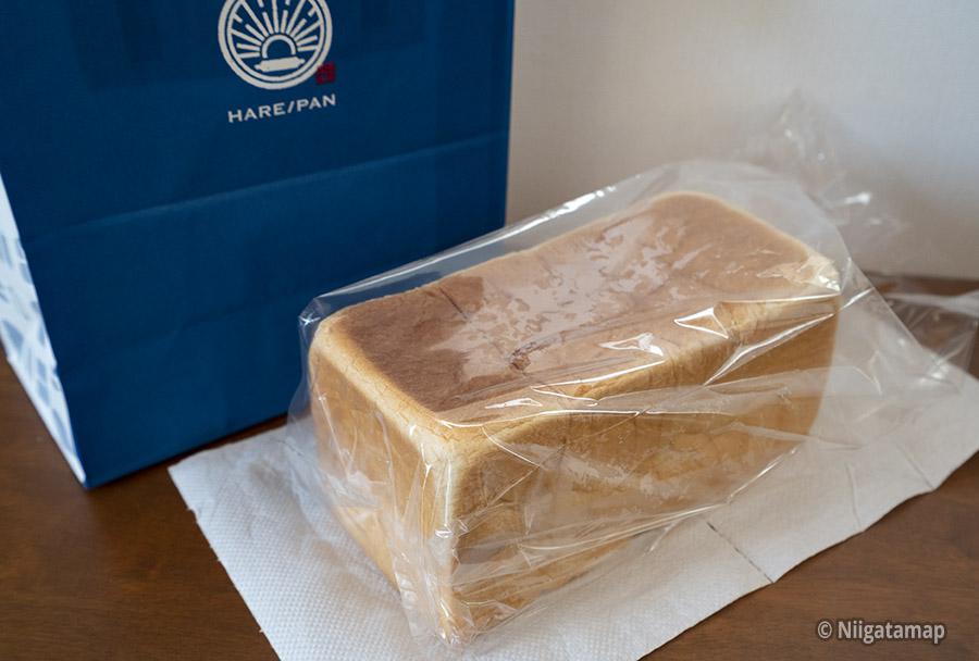 購入した生食パン