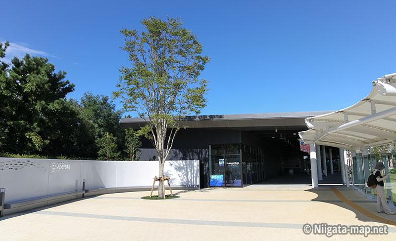 新潟市水族館 マリンピア日本海入口