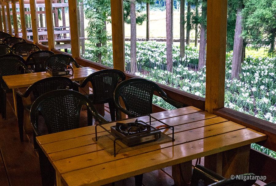 食堂から見えるカサブランカ
