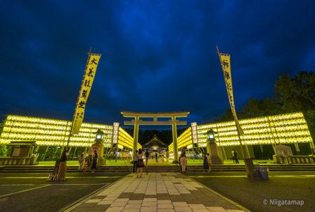 新潟県護国神社万燈みたま祭り