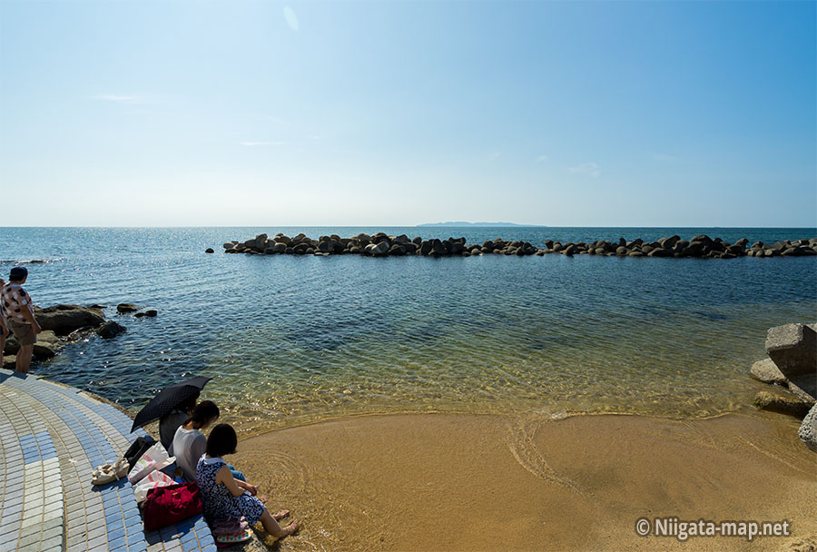 笹川流れと粟島