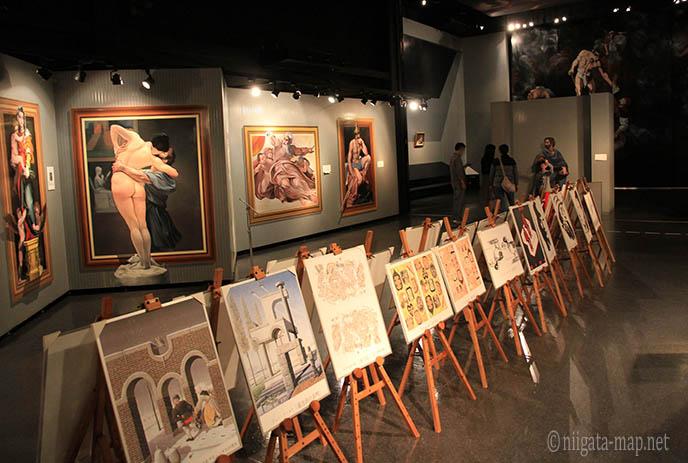 美術品の数々