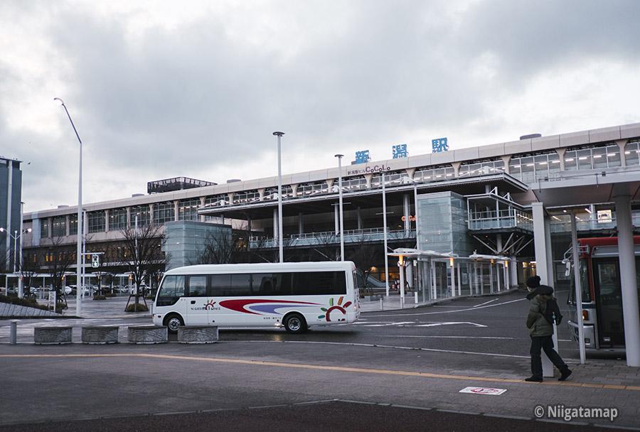 タピオカ専門店が開店した新潟駅の南口