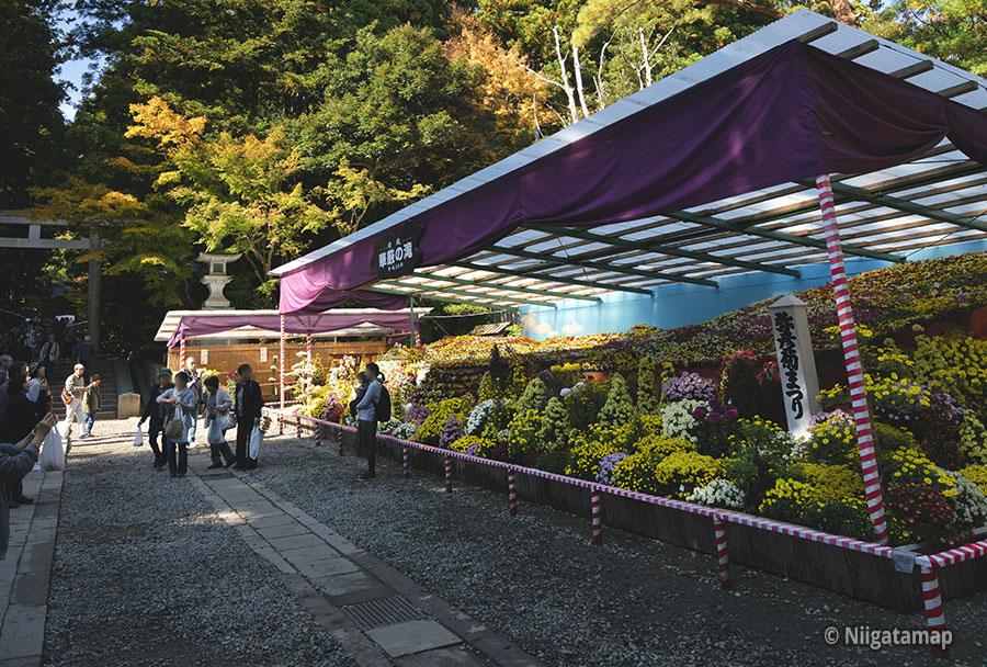 大風景花壇「華厳の滝」